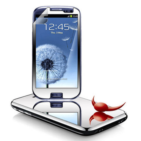 Samsung Galaxy S3 - Mirror Screen Protector Silicone TPU Film - Full Cover