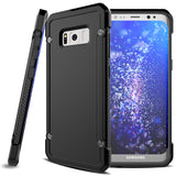 Hybrid Case Dual Layer Armor Defender Cover - Dropproof - Black - Selna L09