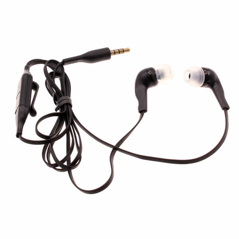 Earphones 3.5mm Headphones Wired Earbuds - In-Ear - Black - Fonus J24