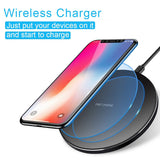 Ultra Slim Wireless Charger Fast Charging Pad - Fonus N95
