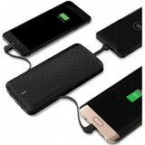 8000mAh Power Bank Charger Backup Battery Portable Built-in Cables - V28