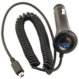 Car Charger DC Lighter Socket Mini-USB Power Adapter
