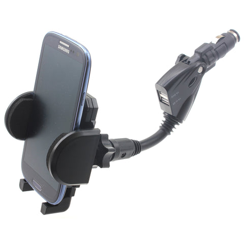 Car Mount Charger Plug Holder