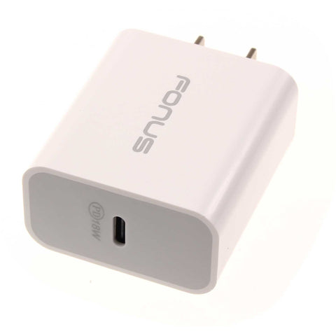 18W PD Home Charger Type-C Power Adapter - Fonus