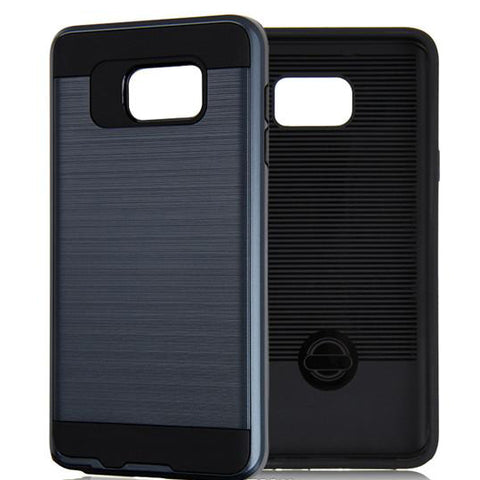 Hybrid Case Dual Layer Armor Defender Cover - Dropproof - Blue - Selna N38