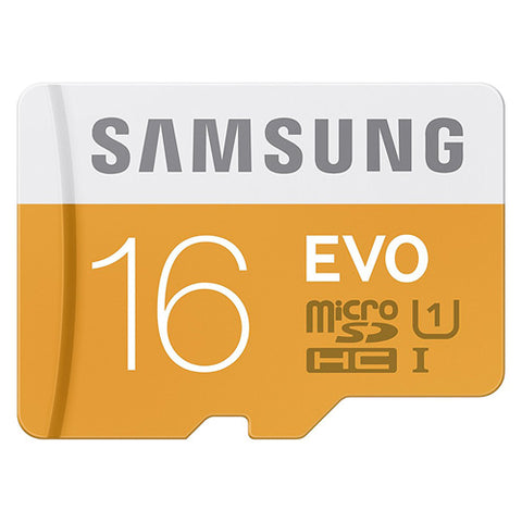 Samsung Samsung 16GB High Speed MicroSDHC Memory Card - Class 10