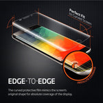 Samsung Galaxy S6 Edge Plus - Screen Protector Silicone TPU Film - Curved - Full Cover - HD Clear
