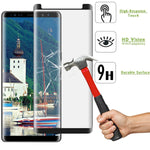 Samsung Galaxy Note 8 - Tempered Glass Screen Protector - HD Clear - 5D Curved - Full Cover