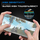 Samsung Galaxy S20 - Tempered Glass Screen Protector - 3D Curved - Full Cover - Fingerprint Unlock
