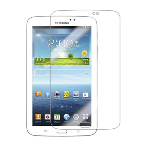 Samsung Galaxy Tab 3 7 - Anti-glare Screen Protector TPU Film - Fingerprint Resistant