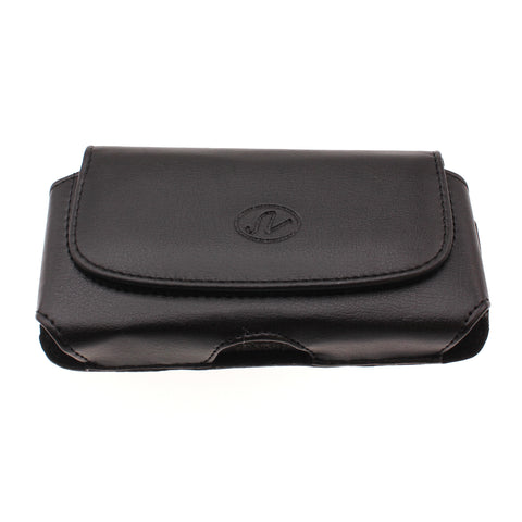 Black Horizontal Leather Case