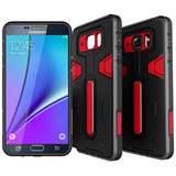 Hybrid Case Dual Layer Armor Defender Cover - Dropproof - Red - Selna N37
