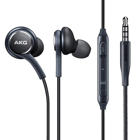 Samsung Original AKG Headphones 3.5mm Earphones - Black
