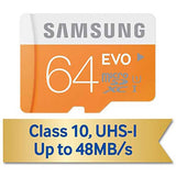 Samsung Samsung 64GB High Speed MicroSDHC Memory Card - Class 10