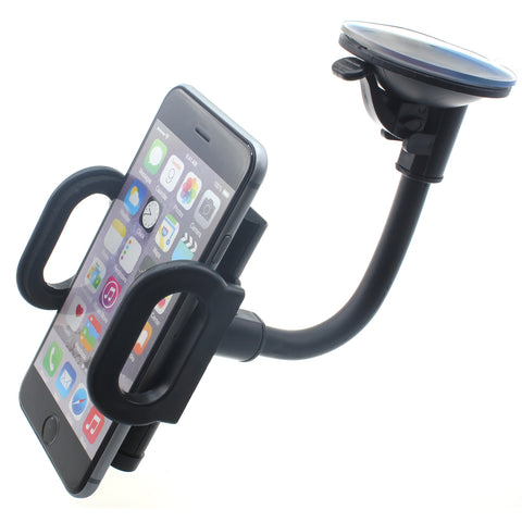 Car Mount Holder for Windshield - Gooseneck Arm - Fonus A41