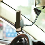 Car Mount Phone Holder for Dashboard and Windshield - Gooseneck Arm - Fonus A45