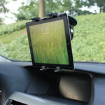 Multi-Angle Rotating Car Mount Windshield Tablet Holder