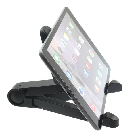 Fold-up Tablet Stand Travel Portable Tablet Phone Holder - Black - Xenda D72