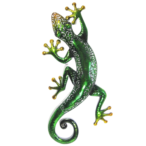 Green gecko med/large wall