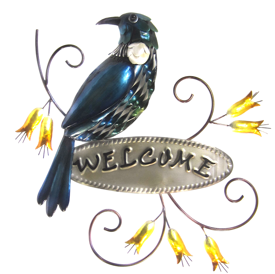 Tui Welcome sign wall art
