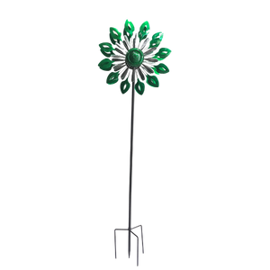 Emerald Flame Windsculpture