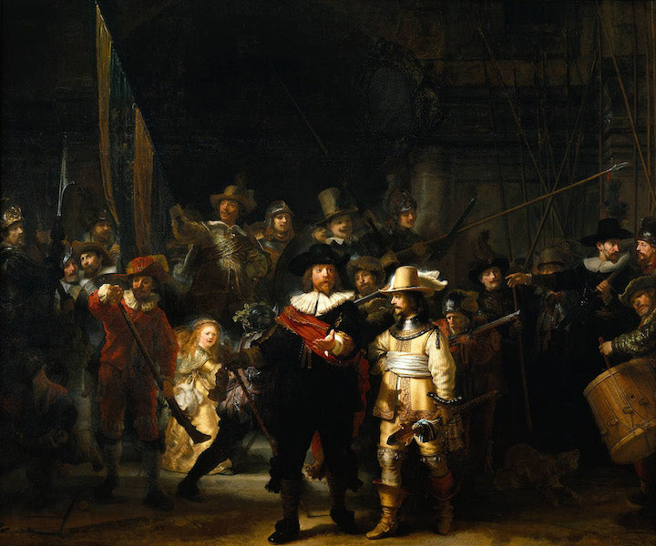 THE NIGHT WATCH | REMBRANDT VAN RIJN