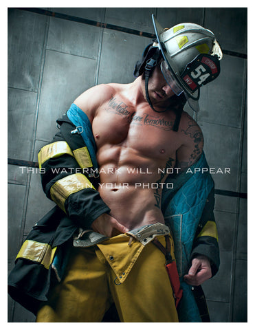 "Fireman Jason - 8.5"" X 11"" Edition of 100"