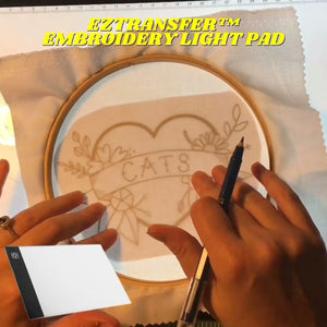 EZTransfer™ Embroidery Light Pad