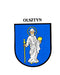 Olsztyn-  Coat of Arms Sticker