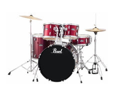 Pearl RS505C Roadshow Hardware and Cymbals Included