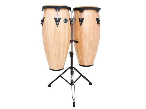 LP Natural Finish Conga Set