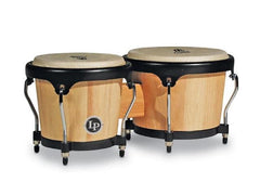 LP LPA601-AW Natural Wood Bongos