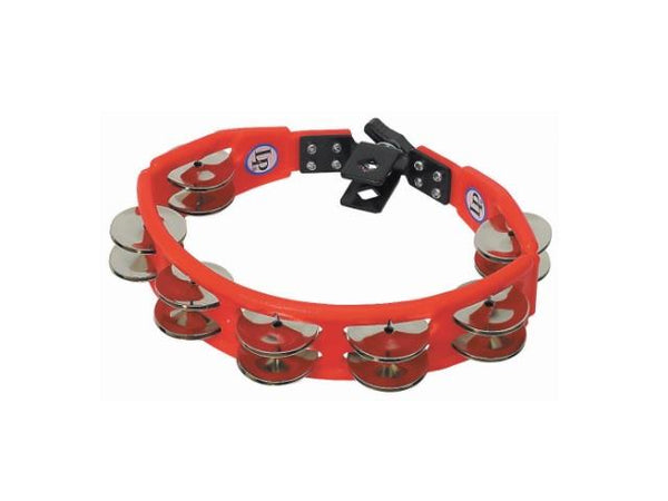 LP Red Cyclops Mounted Tambourine