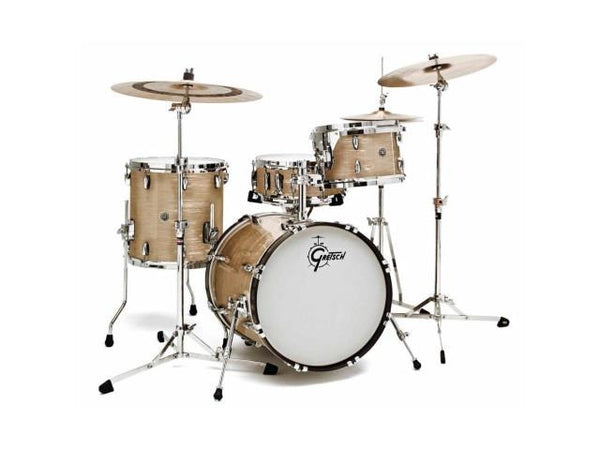 Gretsch GB-E404 Brooklyn Series 4PC 12 14FL 14x5.5SN 20BD