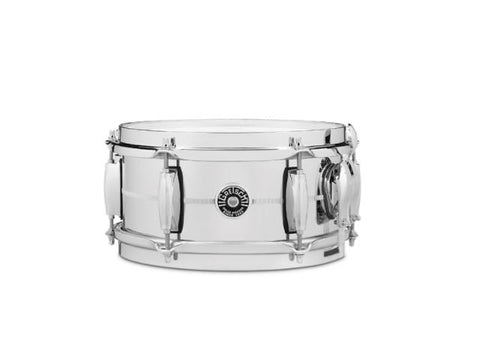 Gretsch  5x10 Chrome Over Steel Brooklyn Snare Drum