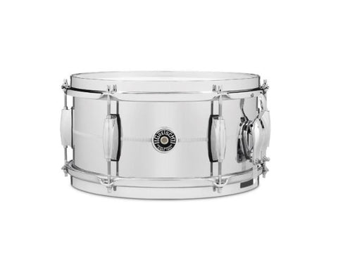 Gretsch 12x6 Chrome Over Steel Brooklyn Snare Drum