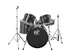 Westbury 5 PC Black Sparkle 20 BD Studio Drum Kit w/ Hardware