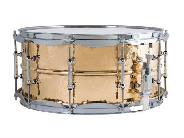 Ludwig Hammered Bronze Snare 14x6.5