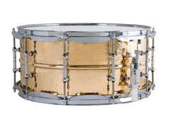 Ludwig LB552KT Hammered Bronze Snare Drum 14x6.5