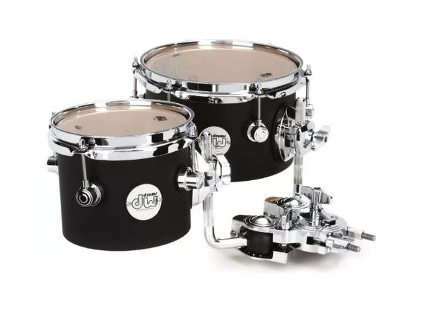 DW Design Series Concert Tom Set W/ Mount - 6 & 8 Inch
