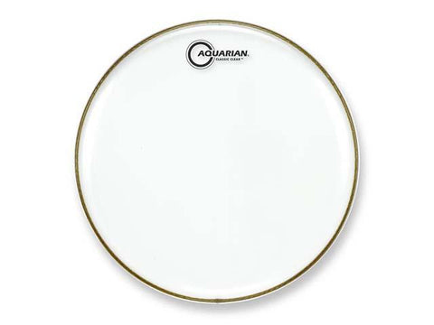 "Aquarian  6"" Classic Clear Drum Head"