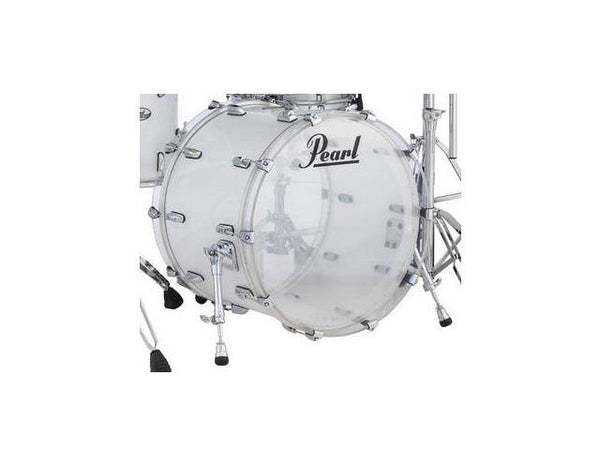 Pearl Crystal Beat Bass Drum Frost Acrylic 22x16