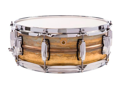 Ludwig 14x5 Raw Brass Snare