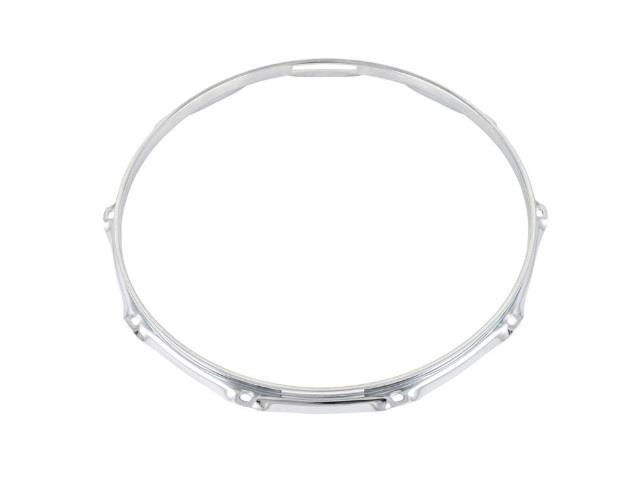 "Gibraltar 14"" Counter Hoop Triple Flanged 10 Hole Snare Side"