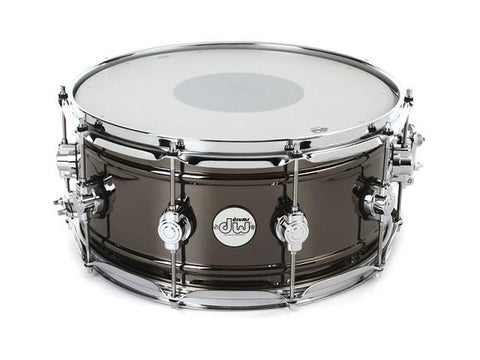 DW Design Series Black Nickel over Brass 14x6.5