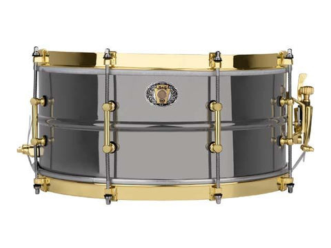 Ludwig 110th Anniversary Black Beauty Snare 14x6.5  8-Lug