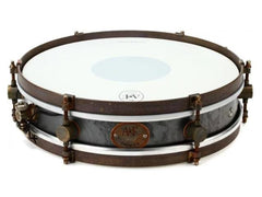 ANF 3X14 Rude Boy Raw Steel Snare Drum
