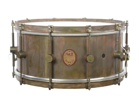 ANF Raw Brass Snare Drum 6.5x14