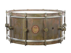 ANF 6.5x14 Raw Brass Snare Drum