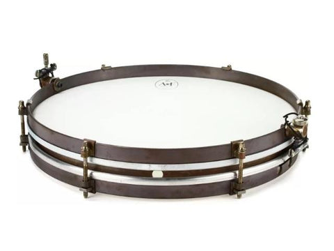 ANF Pancake Brass Snare Drum 14""